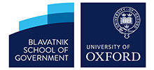 Blavatnik school of government and university of oxford logo